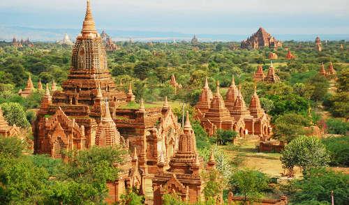 Temples Bagan en Birmanie