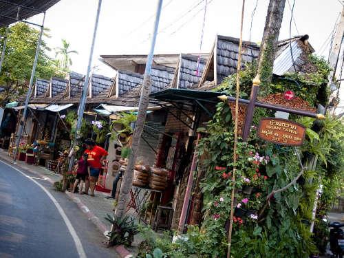 Le village de Ban Tawai
