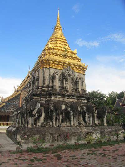 Chedi du Wat Chiang Man