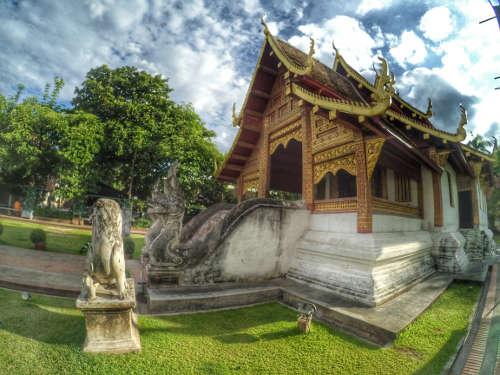 Les Temples, activité culturelle par excellence à Chiang Mai