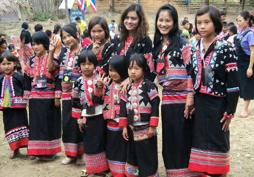 Enfants de la Tribu Lahu