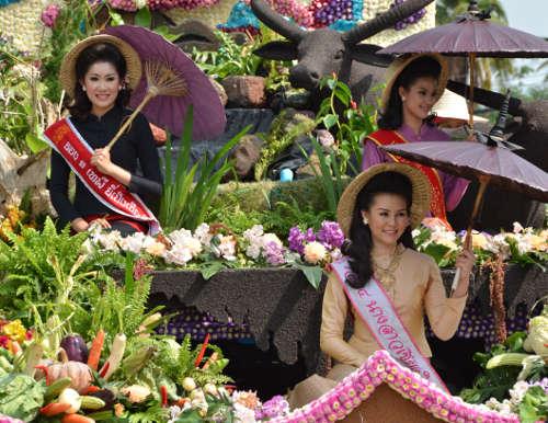 Le Festival des Fleurs de Chiang Mai