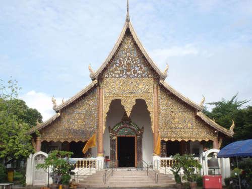 Grand Viharn du Wat Chiang Man