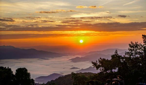 Coucher de Soleil à Huai Nam Dang