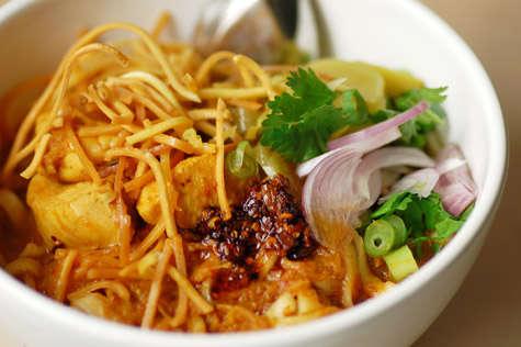 Kao Soy: un plat typiquement lanna