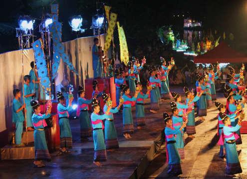 Festival de Loy Kratong a Lampang