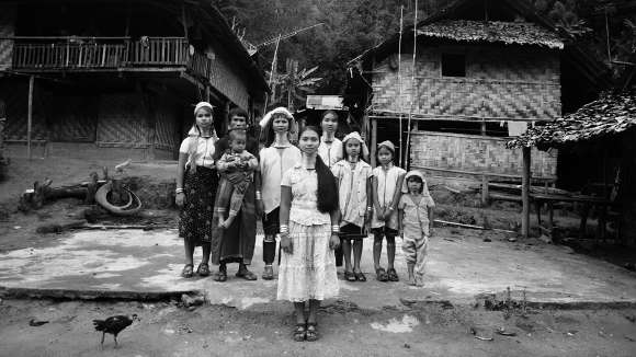 Famille Padaung Karen