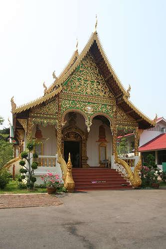 Petit Viharn du Wat Chiang Man