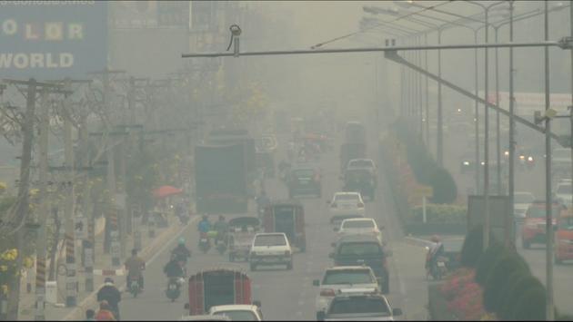 La pollution atmosphérique entre février et avril - Chiang Mai
