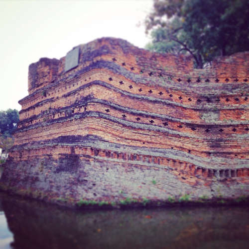 Vestiges des Remparts de Chiang Mai