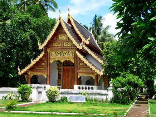 Ubosot du Wat Chiang Man