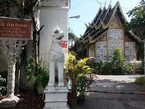 Le Temple Wat Gate Khar Rnam
