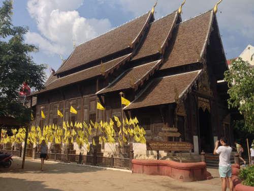 Le Temple Wat Phan Tao