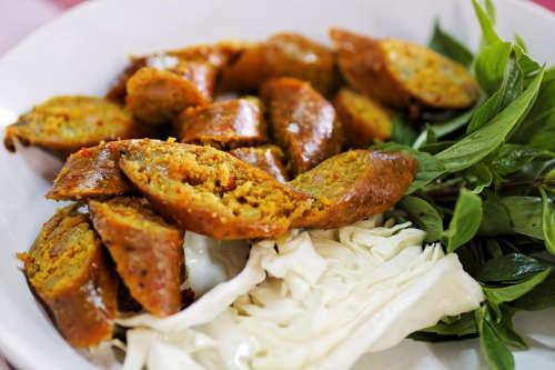 La Fameuse Saucisse de Chiang Mai