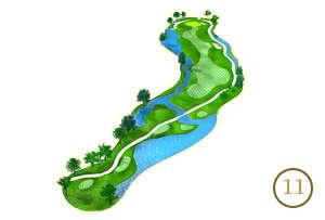 Trou 11 - Alpine Golf Chiang Mai