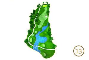 Trou 13 - Alpine Golf Chiang Mai