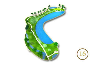 Trou 16 - Alpine Golf Chiang Mai