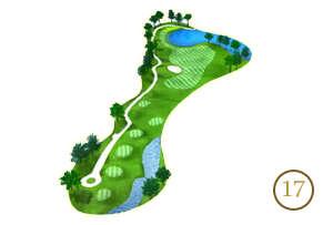 Trou 17 - Alpine Golf Chiang Mai