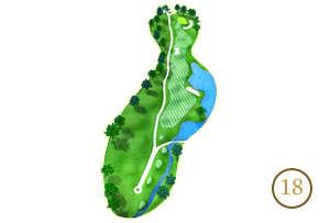Trou 18 - Alpine Golf Chiang Mai