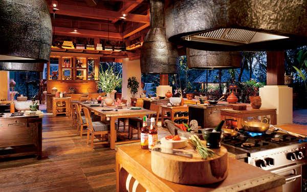 La magnifique ecolede cuisine de l'hôtel Four Season