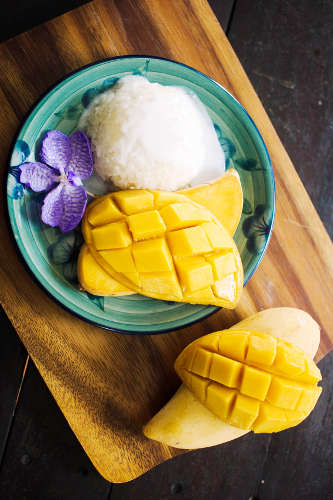 Mangue et Riz Collant - Green Mango