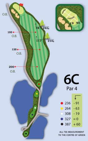 Trou numéro 6 - Mountain Course