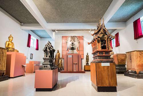 Pièce du Musée National de Chiang Mai
