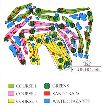 Parcours Lanna Golf Club
