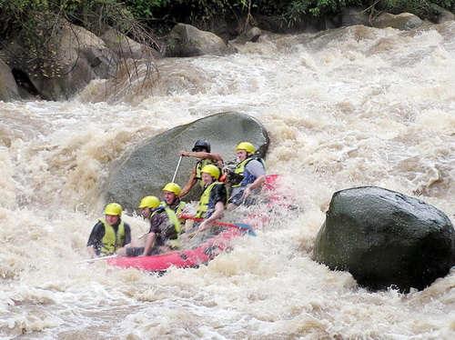 Du Rafting pour les amateurs de sensations fortes