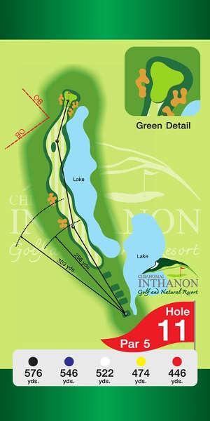 Trou Numero 11 - Chiang Mai Inthanon Golf Resort