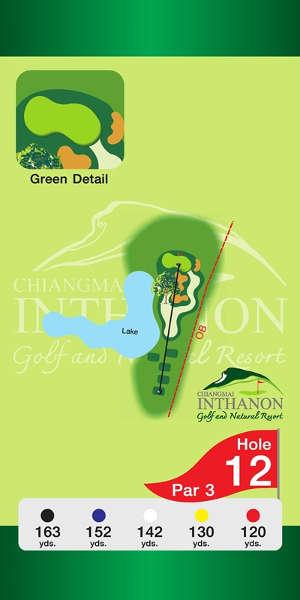 Trou Numero 12 - Chiang Mai Inthanon Golf Resort