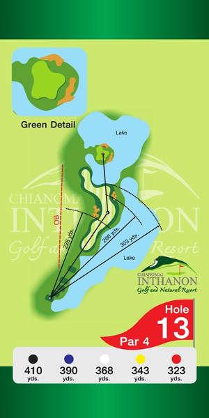 Trou Numero 13 - Chiang Mai Inthanon Golf Resort