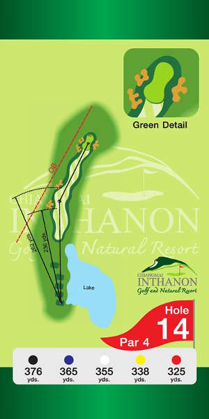 Trou Numero 14 - Chiang Mai Inthanon Golf Resort