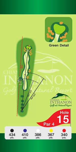 Trou Numero 15 - Chiang Mai Inthanon Golf Resort