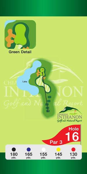 Trou Numero 16 - Chiang Mai Inthanon Golf Resort