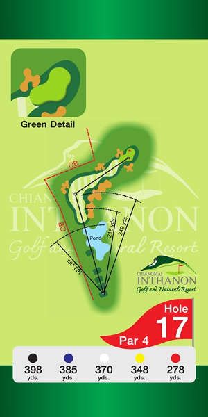 Trou Numero 17 - Chiang Mai Inthanon Golf Resort
