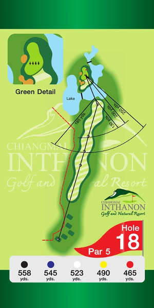 Trou Numero 18 - Chiang Mai Inthanon Golf Resort