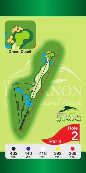 Trou Numero 2 - Chiang Mai Inthanon Golf Resort