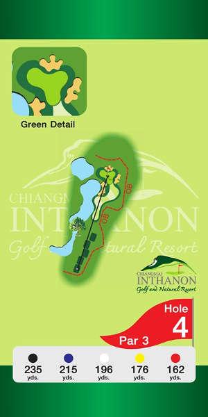 Trou Numero 4 - Chiang Mai Inthanon Golf Resort