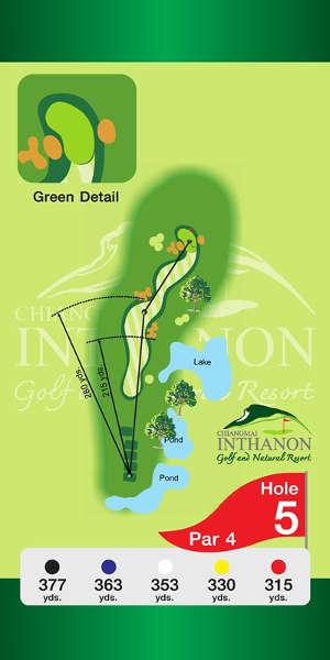 Trou Numero 5 - Chiang Mai Inthanon Golf Resort