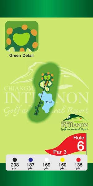 Trou Numero 6 - Chiang Mai Inthanon Golf Resort