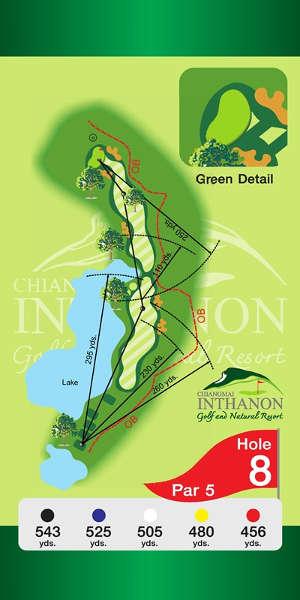 Trou Numero 8 - Chiang Mai Inthanon Golf Resort