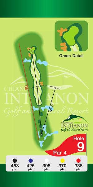 Trou Numero 9 - Chiang Mai Inthanon Golf Resort