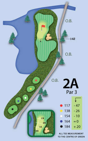 Trou numero 2 - Valley Course