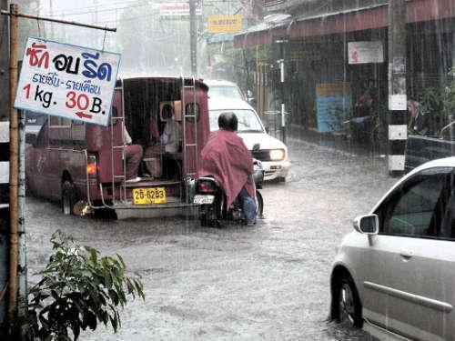 Chiang Mai Durant la Saison des Pluies