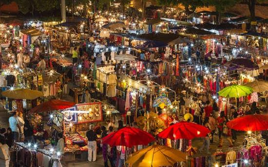 Marché de nuit de Chiang Mai