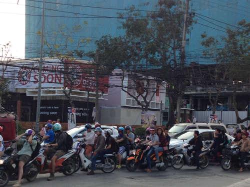 Ça bouchonne à Chiang Mai