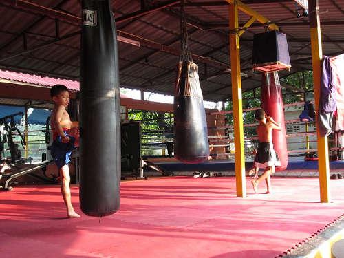 Sacs de Frappe du Muay Thai Santai