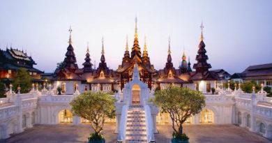 Top 3 des hôtels de luxe de Chiang Mai